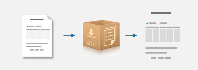 Form recognition sdk